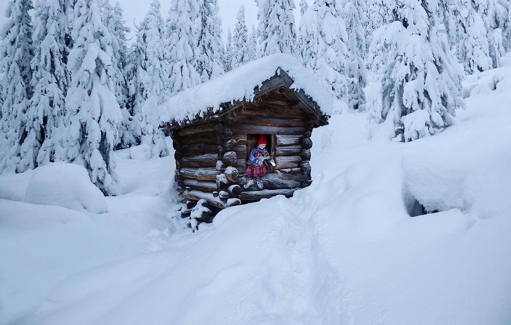 Hardangervidda_hut to hut skiing_Norway
