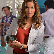 "ROSEWOOD: Jaina Lee Ortiz in the ""Boatopsy & Booty"" episode of ROSEWOOD airing Thursday, Oct. 13 (8:00-8:59 PM ET/PT) on FOX. ©2016 Fox Broadcasting Co. CR: Lisa Rose/FOX"