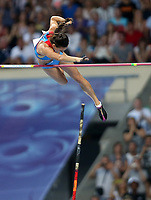 Friidrett<br /> VM 2013 Moskva<br /> 13.08.2013<br /> Foto: Gepa/Digitalsport<br /> NORWAY ONLY<br /> <br /> IAAF Weltmeisterschaften 2013, Stabhochsprung der Damen. Bild zeigt Elena Isinbaeva (RUS). <br /> Yelena Isinbayeva