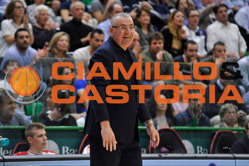 Sassari 04 Maggio 2016<br /> Dinamo Banco di Sardegna Sassari - Olimpia EA7 Emporio Armani Milano<br /> NELLA FOTO Jasmin Repesa<br /> FOTO CIAMILLO