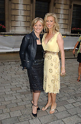 Left to right,JO MALONE and JENNY HALPERN at the Royal Academy of Arts Summer Exhibition Preview Party held at Burlington House, Piccadilly, London on 2nd June 2005<br />