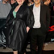 NLD/Amsterdam/20100415 - Uitreiking 3FM Awards 2010, Eva van der Gucht en partner Domenica Mertens