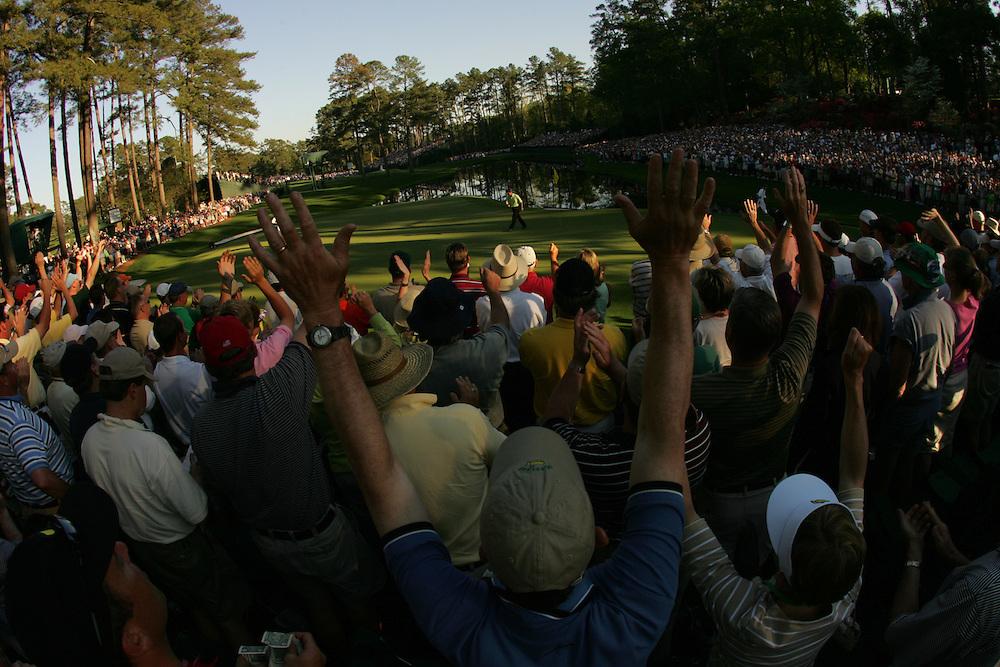 Trevor Immelman..2005 Masters Tournament.Final round.Sunday, April 10 2005.Augusta National GC.Augusta, GA..photograph by Darren Carroll.4-10-05