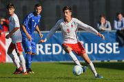 21.09.2017; Niederhasli; FUSSBALL U16 - Schweiz - Italien;<br /> Jonathan De Donno (SUI) <br /> (Andy Mueller/freshfocus)