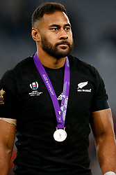 Patrick Tuipulotu of New Zealand (All Blacks) during the Bronze Final match between New Zealand and Wales Mandatory by-line: Steve Haag Sports/JMPUK - 01/11/2019 - RUGBY - Tokyo Stadium - Tokyo, Japan - New Zealand v Wales - Bronze Final - Rugby World Cup Japan 2019