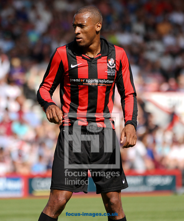 Picture by Tom Smith/Focus Images Ltd 07545141164<br /> 13/07/2013<br /> Wes Thomas of Bournemouth during the Stephen Purches testimonial pre season friendly match at the Seward Stadium, Bournemouth.