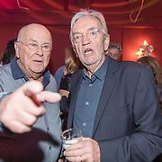 NLD/Bussum/20190306  - boekpresentatie 50 jaar Nederlandse popcultuur van Lex Harding, Lex Harding en Willem van Kooten