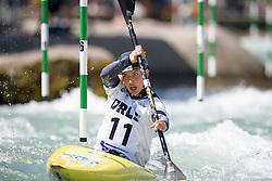 Rosalyn LAWRENCE of Australia during the Canoe Single (WK1) Womens Semi Final race of 2019 ICF Canoe Slalom World Cup 4, on June 28, 2019 in Tacen, Ljubljana, Slovenia. Photo by Sasa Pahic Szabo / Sportida