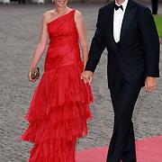 NLD/Apeldoorn/20070901 - Viering 40ste verjaardag Prins Willem Alexander, aankomst Prinses Cristina of Spain and Inaki Urdangarin, hertog van Palma de Mallorca