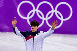 22-02-2018 KOR: Olympic Games day 13, PyeongChang<br /> Short Track Speedskating / Daeheon Hwang of Korea