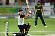 Neil Broom batting during the first ICC Twenty20 (Twenty Twenty) match between Pakistan and New Zealand held at the Dubai International Cricket Stadium, Dubai, UAE, 12 November, 2009. Photo: SPORTDXB / PHOTOSPORT