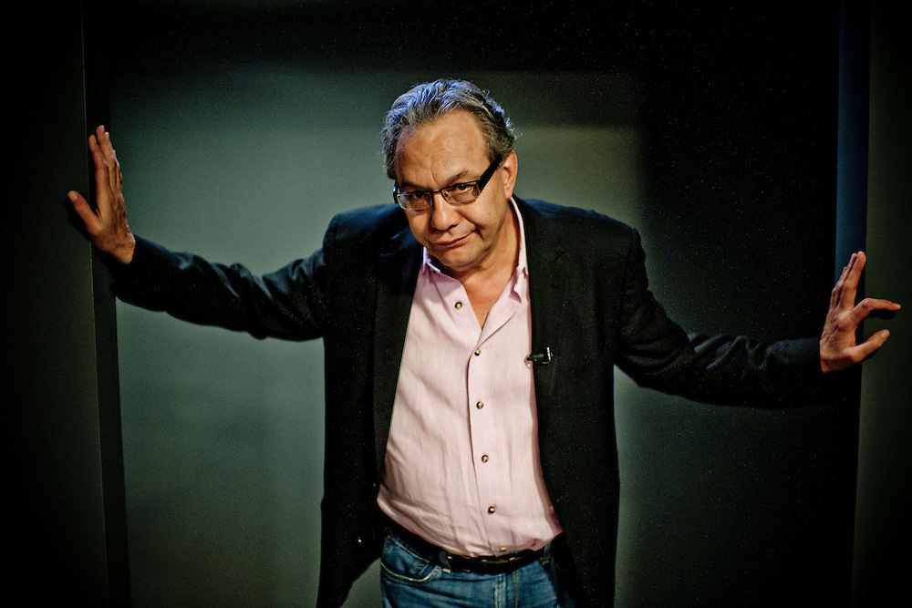 Comedian Lewis Black, interviewed at The Fillmore in on Tuesday, Sept. 13, 2011 in Silver Spring, Md.  (Photo by Jay Westcott/Politico)