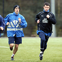 St Johnstone Training..22.03.02   <br />