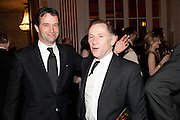 JAMES PUREFOY, Post Olivier Awards Gala party. Waldorf Astoria. London. 13 March 2011. -DO NOT ARCHIVE-© Copyright Photograph by Dafydd Jones. 248 Clapham Rd. London SW9 0PZ. Tel 0207 820 0771. www.dafjones.com.