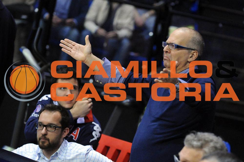DESCRIZIONE : Biella Lega A 2012-13 Angelico Biella Acea Roma<br /> GIOCATORE : Marco Atripaldi<br /> CATEGORIA : Delusione<br /> SQUADRA : Angelico Biella <br /> EVENTO : Campionato Lega A 2012-2013 <br /> GARA : Angelico Biella Acea Roma<br /> DATA : 28/04/2013<br /> SPORT : Pallacanestro <br /> AUTORE : Agenzia Ciamillo-Castoria/Max.Ceretti<br /> Galleria : Lega Basket A 2012-2013  <br /> Fotonotizia : Biella Lega A 2012-13 Angelico Biella Acea Roma<br /> Predefinita :