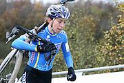 NETHERLANDS / NEDERLAND / PAYS BAS / GIETEN / CYCLING / WIELRENNEN / CYCLISME / CYCLOCROSS / VELDRIJDEN /  HANSGROHE SUPERPRESTIGE VELDRIJDEN / WOMEN / HELEN WYMAN (GBR) /