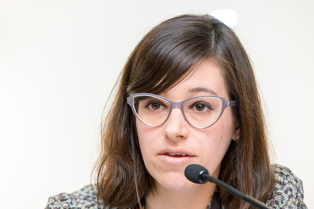 04 June 2015 - Belgium - Brussels - European Development Days - EDD - Gender - A matter of birth , life and death - Walking in the shoes of women and girls without access to water , sanitation and hygiene - Chiara Capraro , Gender Policy Advisor , Christian Aid © European Union