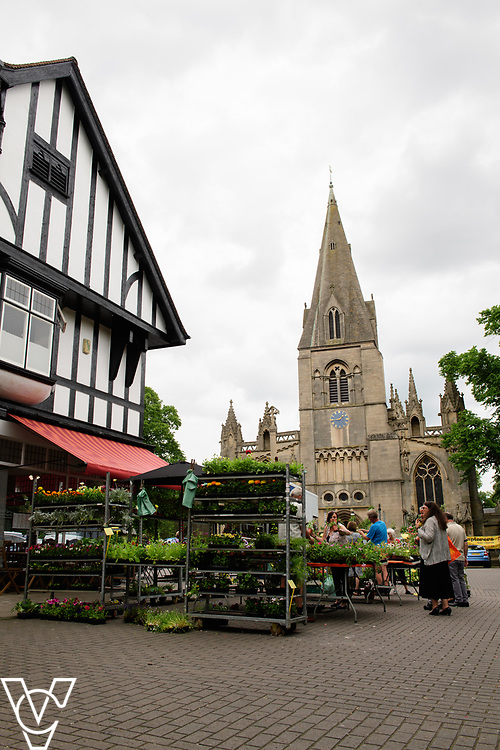 North Kesteven District Council (NKDC) - stock photography: Market Place, Sleaford<br /> <br /> Picture: Chris Vaughan Photography<br /> Date: June 2, 2017