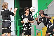 Glasgow, 28 Settembre 2011.UEFA Europa League 2011/2012  2^ giornata gruppo I..Udinese vs Celtic Glasgow..Nella Foto: Allenamento di rifinitura dell'Udinese..© foto di Simone Ferraro