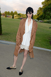 EDIE CAMPBELL at the Fashion Rules Exhibition Opening at Kensington Palace, London W8 on 4th July 2013.