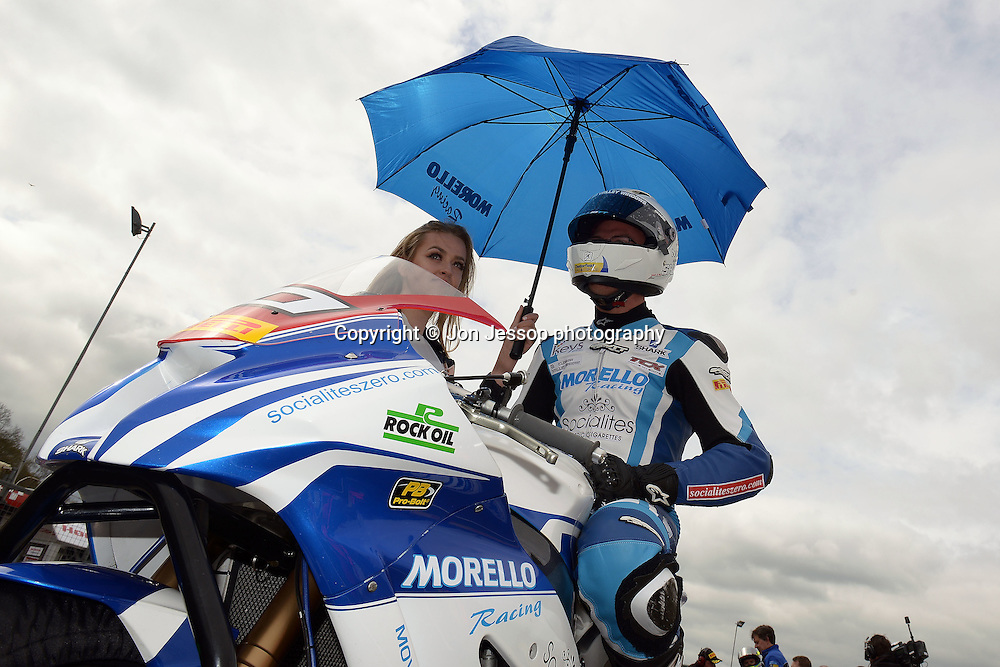 #10 Josh Elliott Morello Racing Kawasaki Pirelli National Superstock 1000 Championship