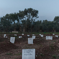 25 Lesbos refugee cemetery