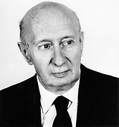 George von Bekesy (1899-1972) Hungarian-born American physiologist; Nobel prize for physiology or medicine 1961; function of inner ear. Photograph