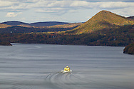 Bear Mountain, New York  - Autumn scenes at Bear Mountain State Park on Oct. 27, 2013.