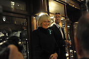 THE DUCHESS OF CORNWALL SWITCHING ON THE LIGHTS  The Duchess of Cornwall switches on the Christmas lights at the Burlington Arcade in Piccadilly, London, November 23,  London. 23 November 2011.