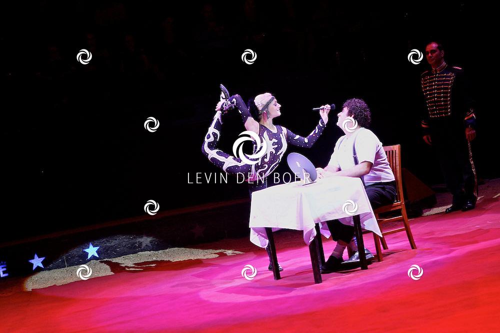 AMSTERDAM - De premiere van het WereldKerstCircus in Carre in Amsterdam. FOTO LEVIN DEN BOER - PERSFOTO.NU