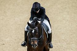 Barbancon Mestre Morgan, ESP, Sir Donnerhall II Old<br /> Göteborg - Gothenburg Horse Show 2019 <br /> FEI Dressage World Cup™ Final II<br /> Grand Prix Freestyle/Kür<br /> Longines FEI Jumping World Cup™ Final and FEI Dressage World Cup™ Final<br /> 06. April 2019<br /> © www.sportfotos-lafrentz.de/Stefan Lafrentz