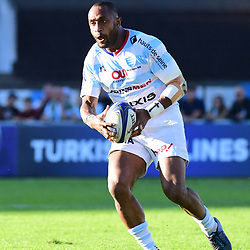 Joe Rokocoko of Racing 92 during the European Rugby Champions Cup match between Racing 92 and Leicester Tigers on October 14, 2017 in Colombes, France. (Photo by Dave Winter/Icon Sport)