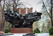 Soviet Monument to World War II heroes in Panfilov Park, Almaty, Kazakstan