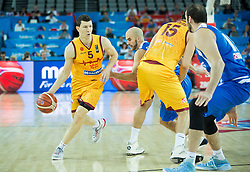 Vlado Ilievski of Macedonia during basketball match between FYR of Macedonia and Greece at Day 1 in Group C of FIBA Europe Eurobasket 2015, on September 5, 2015, in Arena Zagreb, Croatia. Photo by Vid Ponikvar / Sportida