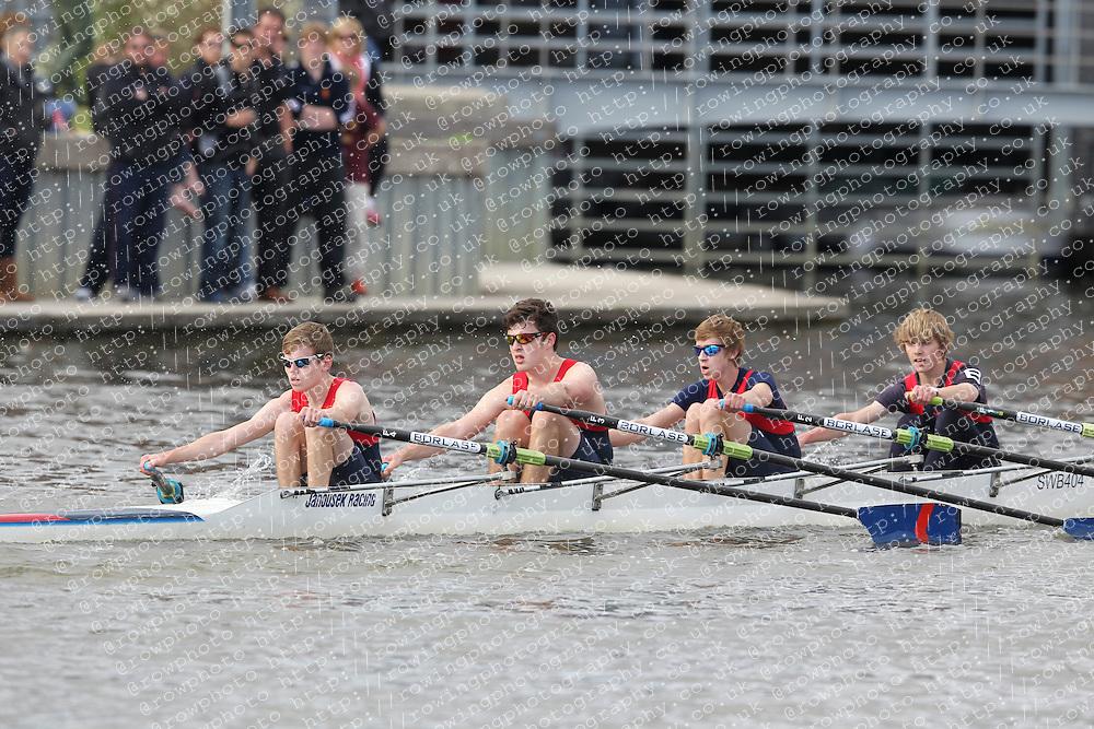2012.09.29 Wallingford Long Distance Sculls 2012. Division 3. J16A 4x-. Sir William Borlase Grammar School Boat Club.