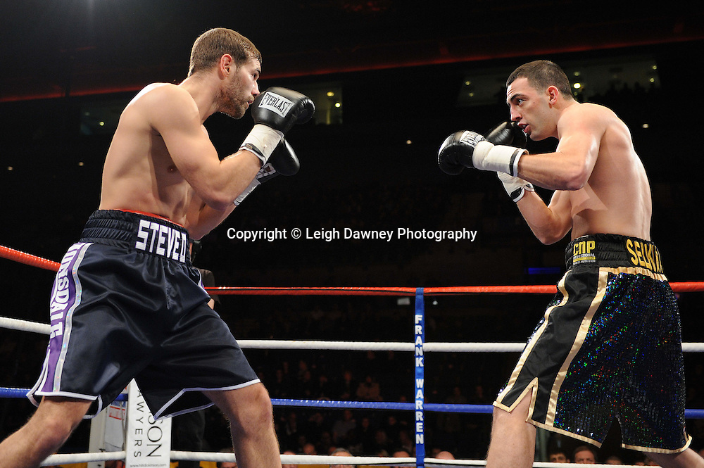"""Joe Selkirk defeats Steve O'Meara at the Echo Arena, Lverpool,11th December 2010,Frank Warren.tv Promotions """"Return Of The Magnificent Seven"""" © Photo Leigh Dawney"""