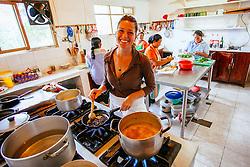 Learning to cook Ecuadorian soups