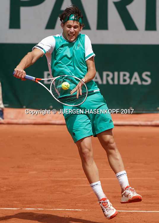 DOMINIC THIEM (AUT)<br /> <br /> Tennis - French Open 2017 - Grand Slam / ATP / WTA / ITF -  Roland Garros - Paris -  - France  - 7 June 2017.