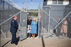 Wellington-Royals, Camilla, Duchess of Cornwall visits Arohata Prison