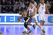 DESCRIZIONE : Campionato 2013/14 Acea Virtus Roma - Sutor Montegranaro<br /> GIOCATORE : Josh Mayo<br /> CATEGORIA : Controcampo Palleggio Equilibrio<br /> SQUADRA : Sutor Montegranaro<br /> EVENTO : LegaBasket Serie A Beko 2013/2014<br /> GARA : Acea Virtus Roma - Sutor Montegranaro<br /> DATA : 18/01/2014<br /> SPORT : Pallacanestro <br /> AUTORE : Agenzia Ciamillo-Castoria / GiulioCiamillo<br /> Galleria : LegaBasket Serie A Beko 2013/2014<br /> Fotonotizia : Campionato 2013/14 Acea Virtus Roma - Sutor Montegranaro<br /> Predefinita :