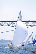 Madcap sailing in the Robert H. Tiedemann Classic Yachting Weekend race 1.