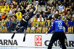 during handball match between RK Celje Pivovarna Lasko (SLO) and HC PPD Zagreb (CRO) in Group phase of VELUX EHF Men's Champions League 2018/19, November 18, 2018 in Arena Zlatorog, Celje, Slovenia. Photo by Urban Urbanc / Sportida