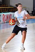 Ritiro per la preparazione ad Eurobasket 2007 Allenamento