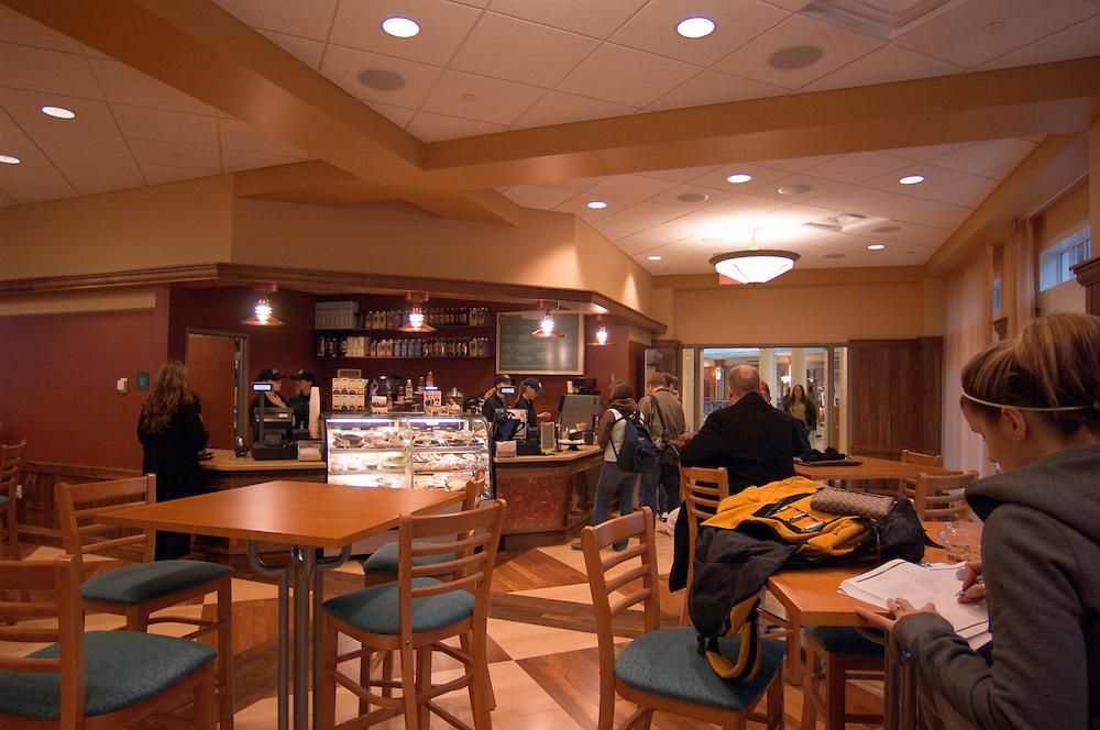 New Baker Center Interior Shots/students....Amber Schlegel
