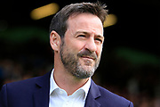 Leeds United manager Thomas Christiansen  during the EFL Sky Bet Championship match between Leeds United and Burton Albion at Elland Road, Leeds, England on 9 September 2017. Photo by Richard Holmes.