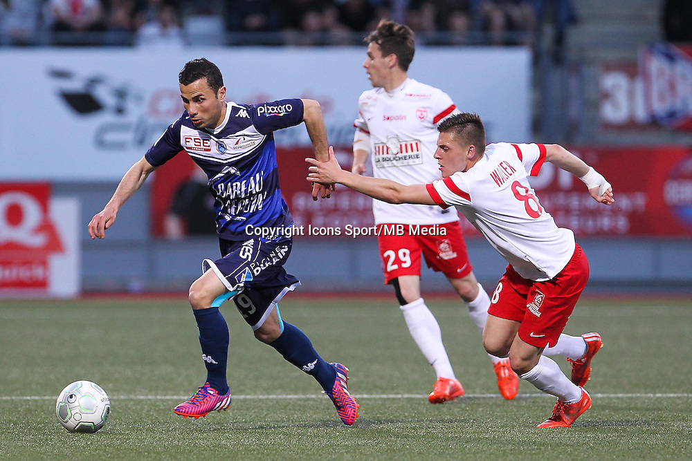 Karim AZAMOUM - 24.04.2015 - Nancy / Troyes - 33eme journee de Ligue 2<br />