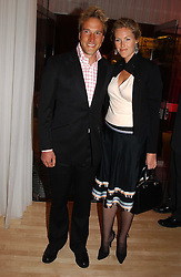 BEN FOGLE and MARINA HUNT at the annual Laurent Perrier Pink Party held at The Sanderson Hotel, Berners Street, London on 27th April 2005.<br /><br />NON EXCLUSIVE - WORLD RIGHTS