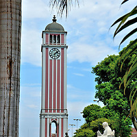 German Clock Tower at University Park in Lima, Peru<br />