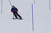 Polish athlete Patryk Czaplicki with intelectual disability competes while Alpine Intermediate Slalom during 2013 Special Olympics World Winter Games PyeongChang at Yongpyong Resort on February 5, 2013...South Korea, PyeongChang, February 5, 2013..Picture also available in RAW (NEF) or TIFF format on special request...For editorial use only. Any commercial or promotional use requires permission...Photo by © Adam Nurkiewicz / Mediasport
