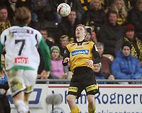 Fotball <br /> Tippeligaen<br /> Åråsen Stadion <br /> 28.03.2010<br /> Lillestrøm SK  v Hønefoss BK  6-0<br /> Foto: Dagfinn Limoseth, Digitalsport<br /> Erling Knudtzon , Lillestrøm